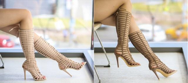 sandale gladiator bedon